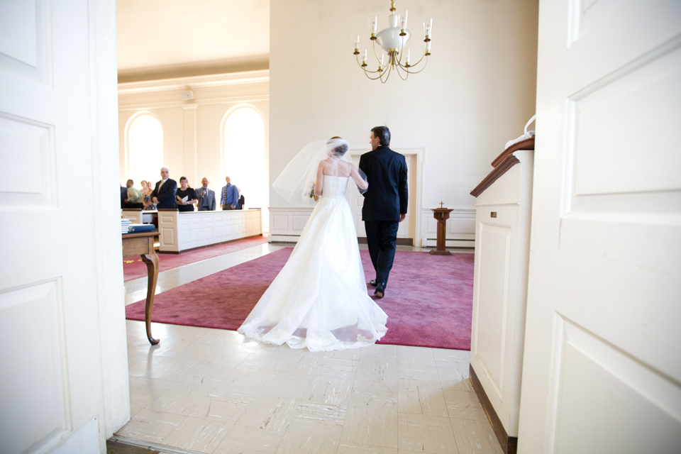Valhalla Methodist Church wedding