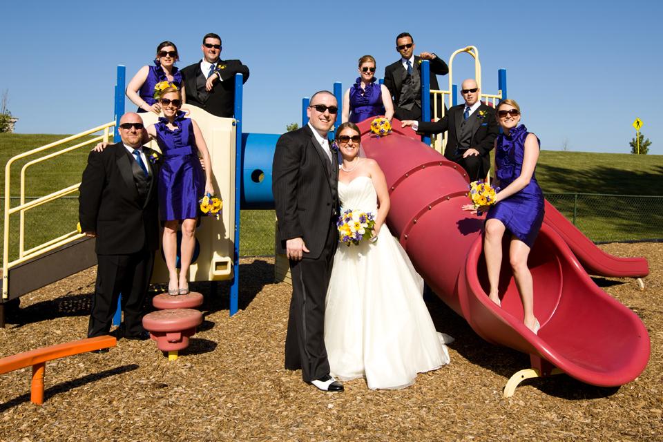 Valhalla Methodist Church wedding