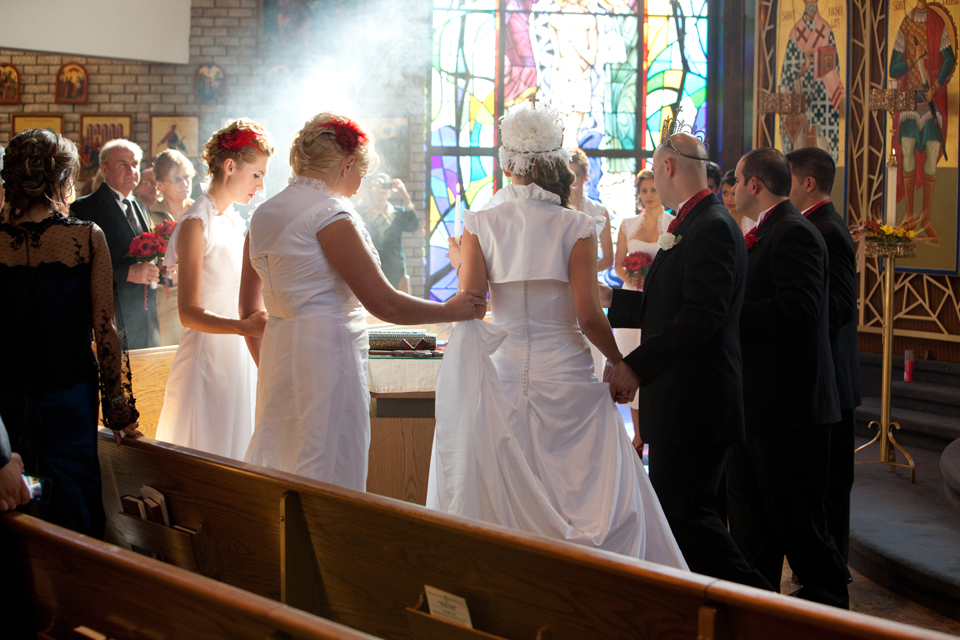 St.George Antiochian Orthodox Christian Church Little Falls wedding