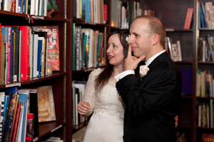 housing works bookstore cafe wedding photos