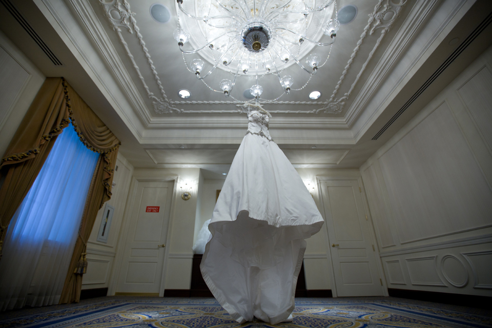 the new york palace wedding dress