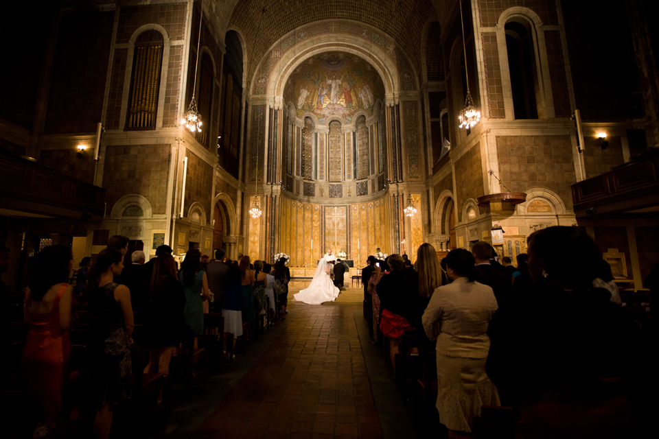 St. Bartholomews Church wedding
