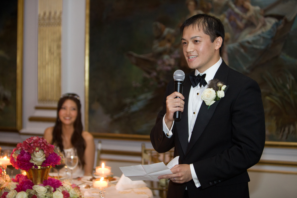 the new york palace wedding reception
