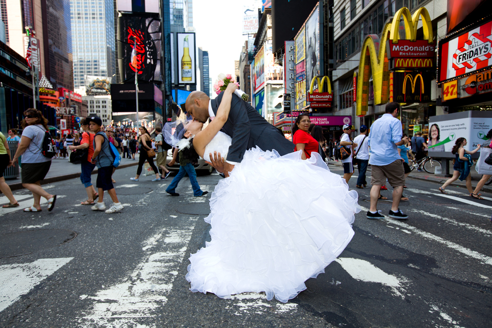 times square wedding photographer