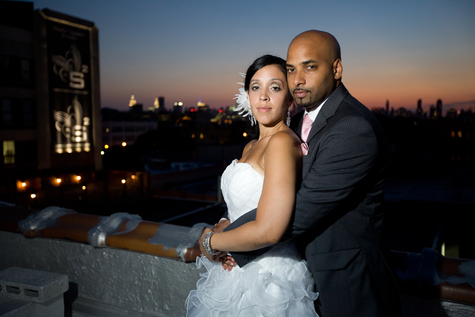 queens rooftop wedding