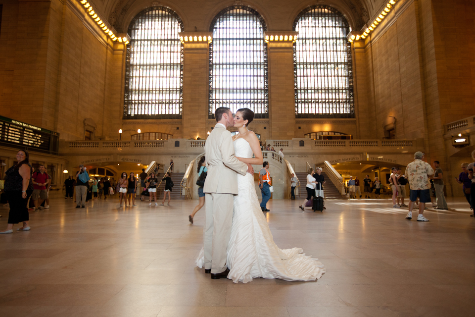 Grand Central Wedding