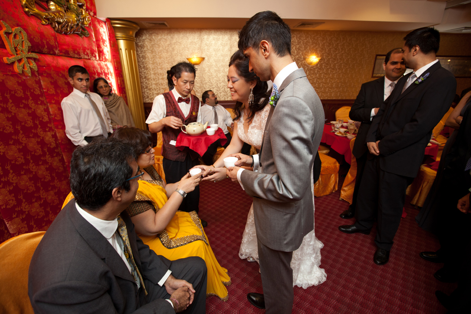 chinese indian wedding brooklyn tea ceremony