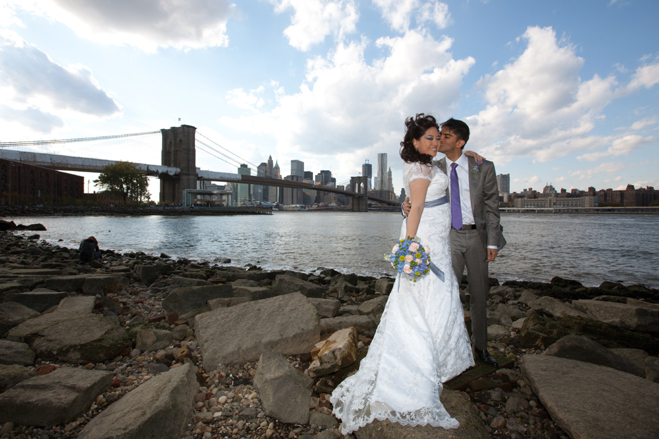 Brooklyn Bridge Park Wedding