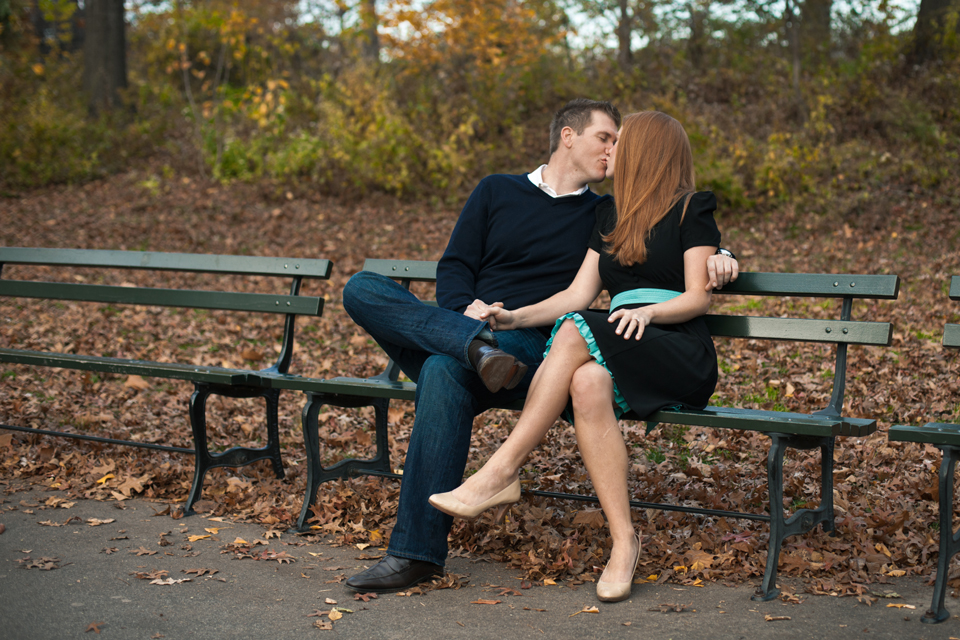 New York City Central Park Engagement Photo Session