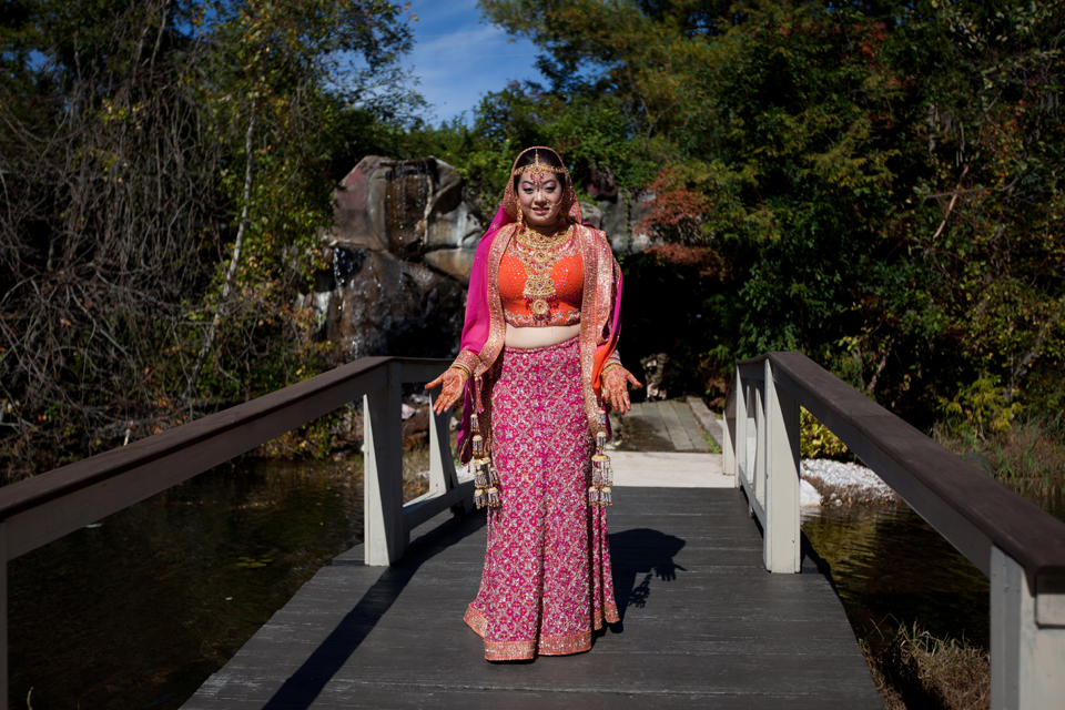 indian wedding garden falls nj