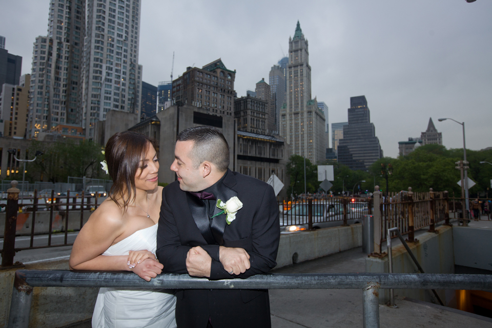 brooklyn bridge wedding ceremony ny