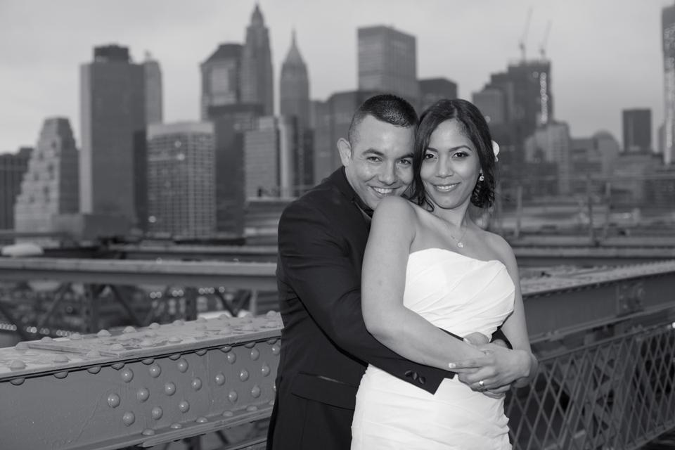 brooklyn bridge wedding ceremony ny