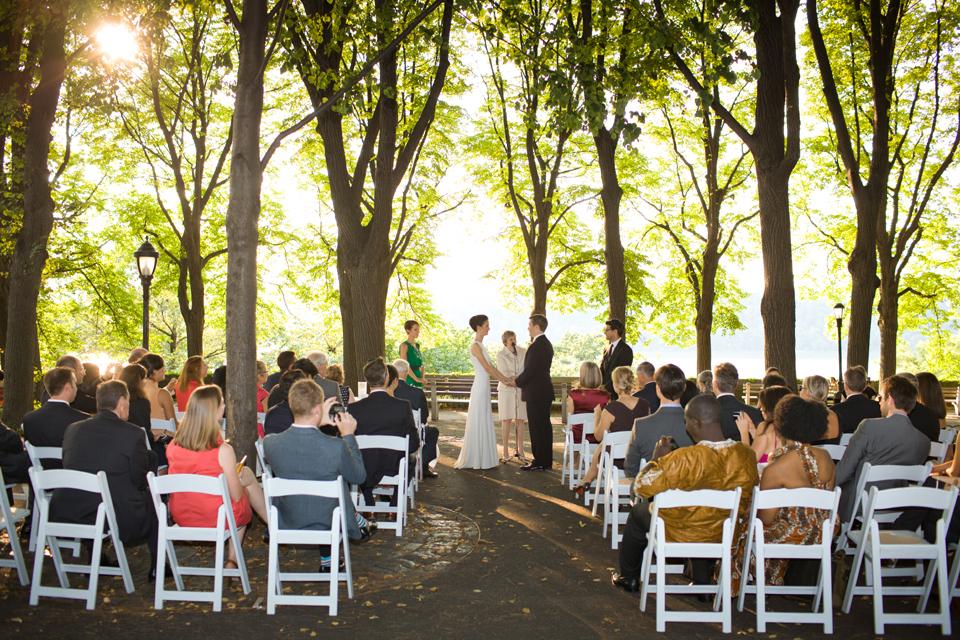 Fort Tryon Park Linden Terrace Manhattan Wedding photographer