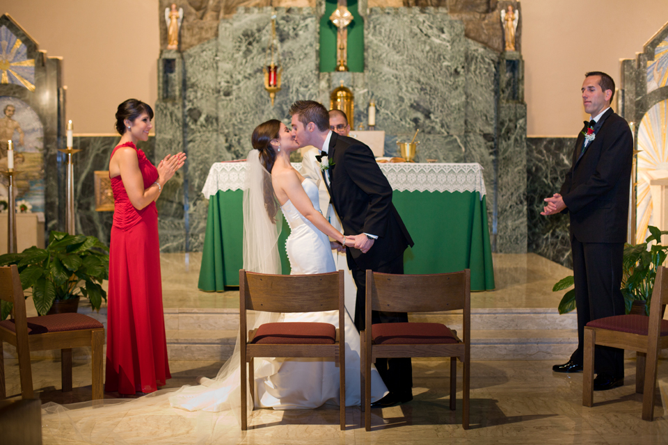 Saint Bernadette's Church Brooklyn wedding photographer