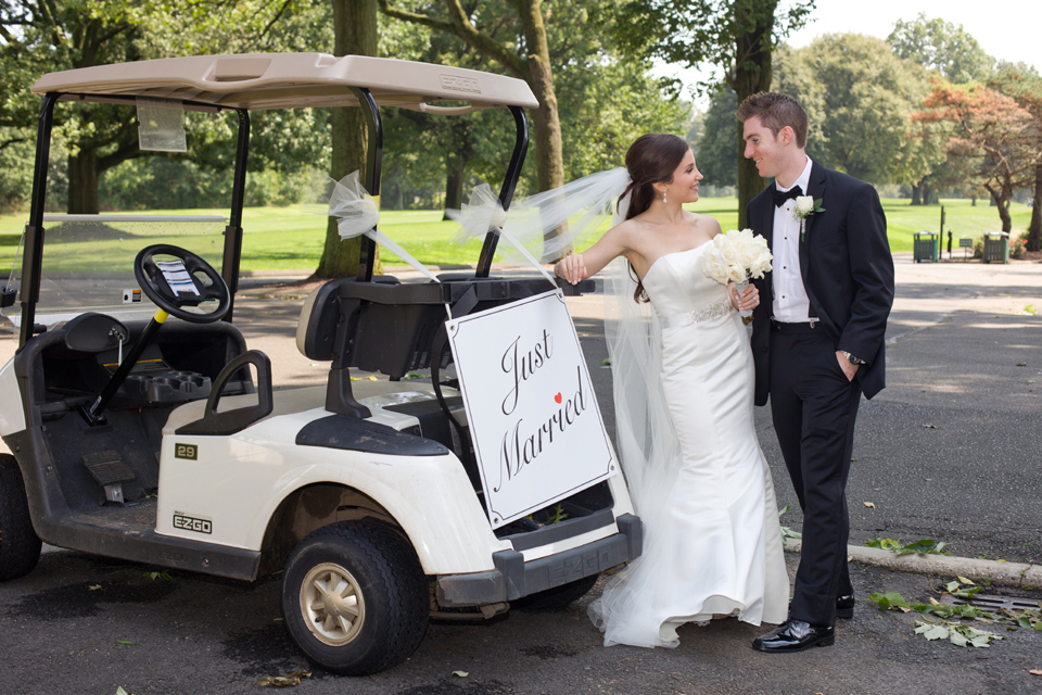 Brooklyn Dyker Beach Golf Course Wedding photography