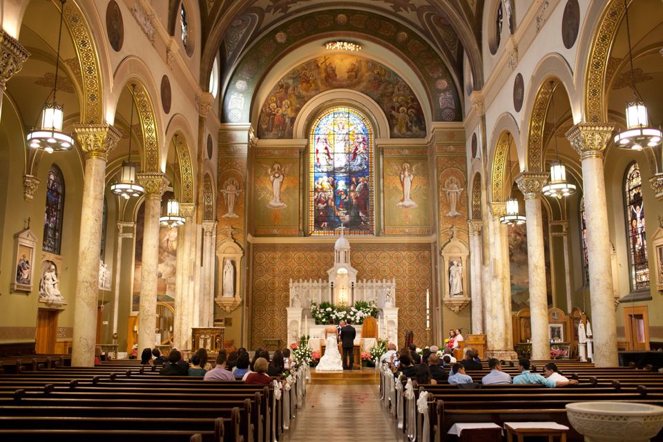 ascension catholic church wedding manhattan