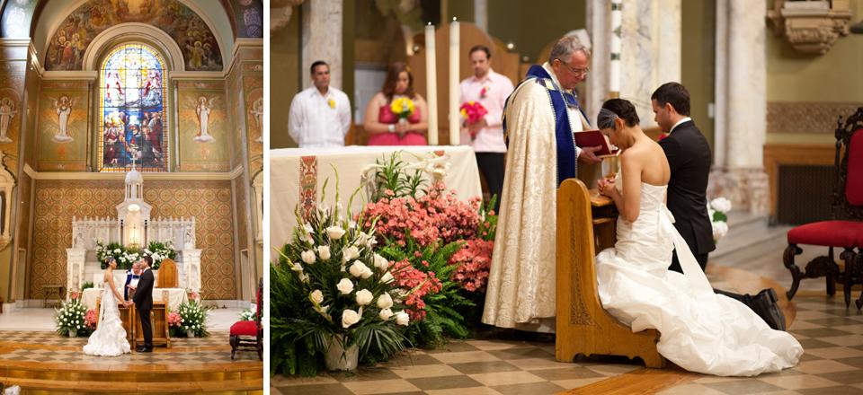 Central Park Wedding Photography Ascension Catholic Church Ceremony