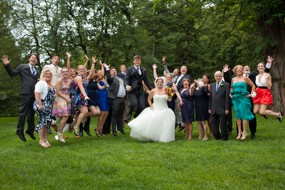 bailey arboretum wedding