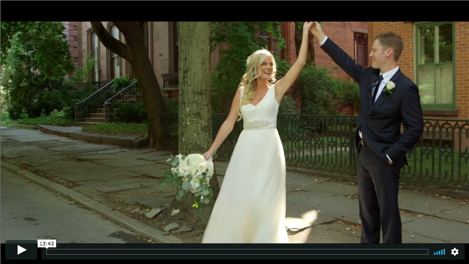 Troy NY wedding videography