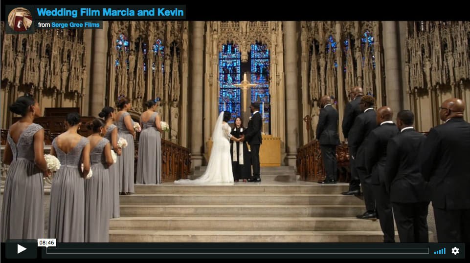 Manhattan Wedding Videography