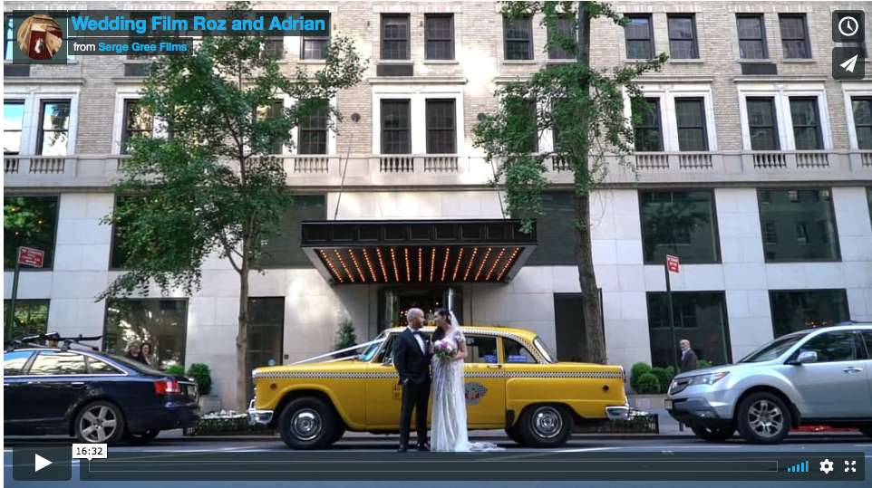 nyc wedding videography