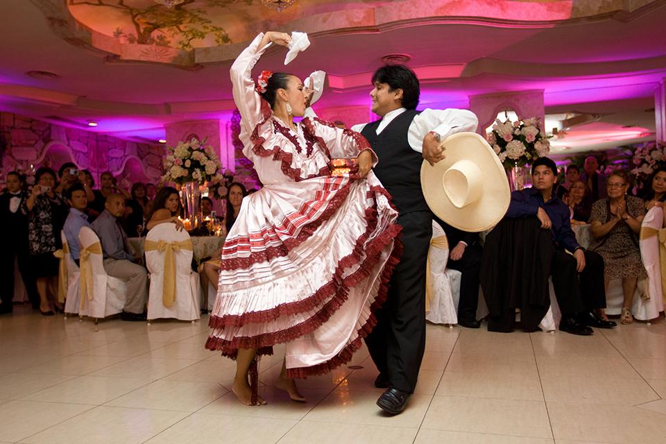 Leonard's Palazzo - Peruvian wedding dance