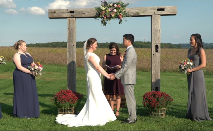 PA wedding videography