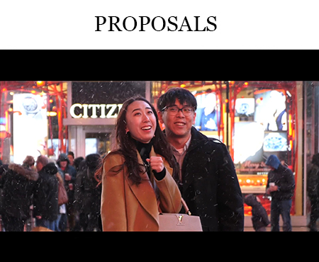 NYC marriage proposal videographer NJ