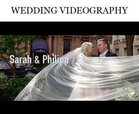 NYC wedding videographer NJ