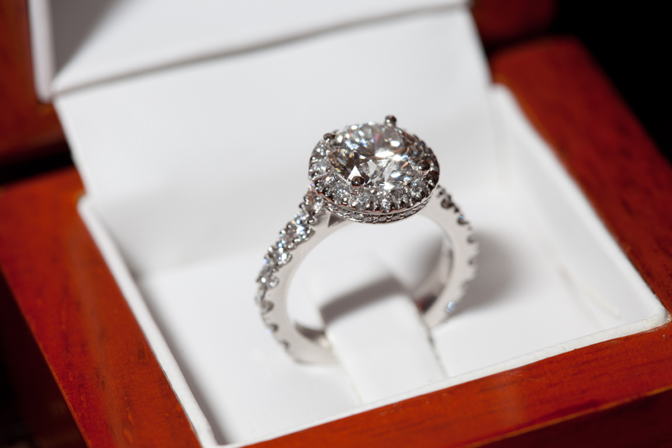 Alternatives to diamonds, engagement ring